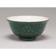 an unusual 'famille-noire' minyao bowl ||| ||| sotheby's au0720lot3nr5sen