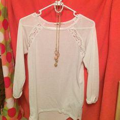 Shirt, bracelet, necklace Combo! :) H&M Tops