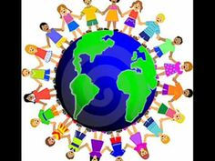 What Percentage of International Children are Raised Bilingual - Bosley, the Language Bear Kids Around The World, We Are The World, People Of The World, Around The Worlds, Preschool Songs, Kids Songs, World Clipart, Children Holding Hands, International Baccalaureate