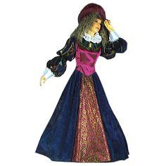Lady code produit : 945-011 3 pièces : Robe, Jupon Noir et Chapeau.  Taille(s) : 40
