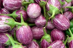 Picture of the Week: Striped Eggplants