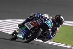 Первая ночь тестов в Катаре для Бастианини и Джанантонио из Gresini Racing Team Moto3. | GP RACING