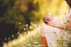 What better place to photograph your sweet newborn than in Mother Nature?