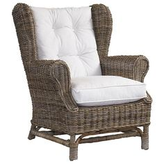 Loxley Wicker Wingback Chair Pier 1 Imports Have A