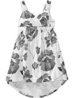Floral Hi-Lo Sundresses for Baby Product Image
