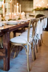 Rustic event decor.  Style Me Pretty Living, A Field Guide To Living An Inspired Life