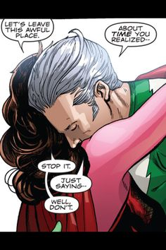 Ultimate scarlet witch and quicksilver relationship