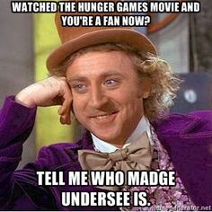 Tell me who Madge Undersee is.