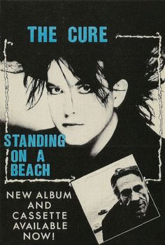 The Cure - Standing on a beach   One of my faborites