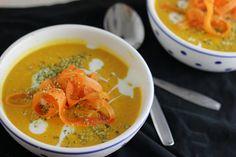 Marokkaanse Wortel Kikkererwt Soep