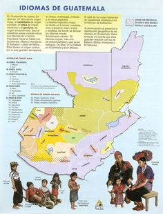 Idiomas de Guatemala. From moonflowerenterprises.com.