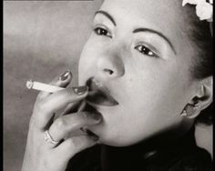 Billie Holiday portrait 1940