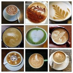 Coffee coffee coffee. My drug of choice. If only I could do these cool designs on my own.