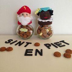 Angels handmade with love: Sint en Piet potjes..