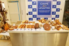 Turkish team's work for the competition : baguette and world breads, viennese pastries, artistic piece. #BakeryLesaffreCup #Africa