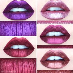 BEAUTY CRUSH #16 : Laissez-vous séduire par les produits enchantés de Lime Crime - Les Éclaireuses Metallic Lipstick, Gloss Lipstick, Makeup Lipstick, Lipsticks, Beauty Crush, Body Makeup, Beauty Makeup, Lime Crime, Natural Lip Colors