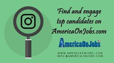 AmericaOnJobs provides 250 Free Job posting to every new company registration.  Now minimize the recruitment cost with free registration and start hiring in 2 days.  Hire top candidates for back office, Sales, Marketing, healthcare and much more…  Visit us @ www.americaonjobs.com  #OnlineJobFinder  #Jobs #JobPortal #LatestJobinUSA #JobSearch #CareerTips #JobTrends #CareerChoices #TechJobs #Vacancies #Opportunities #Careers #LatestJobinUSA #OnlineJobFinder Career Choices, Career Advice, Job Search Websites, Free Job Posting, Job Portal, Achieve Success, Better One, Job Offer