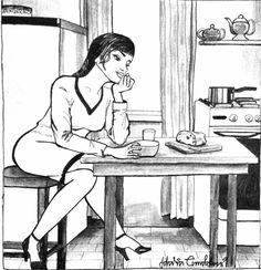 Estas ilustrações mostram a alegria de morar sozinho