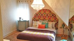 La chambre de la fille de Ricardo Larrivée Home Decor Inspiration, Decoration, Sweet Home, Interior Design, House, Furniture, Charlotte, Bedrooms, Organization