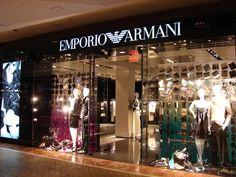 Visual Merchandising - Window Display Emporio Armani by MAYKAN CHAN, via Behance