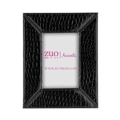 dCOR design Abria Leatherette Picture Frame