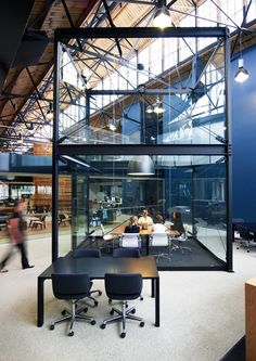 amazing meeting room cube bvn architecture goods shed north winners of the 2010 design institute of australia interior design award for corporate design