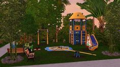 Sun park for kids by Elena