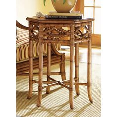 Tommy Bahama Beach House Coral Springs Accent Table