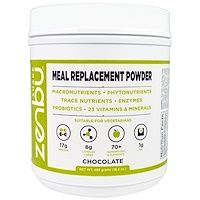 Madre Labs Zenbu Shake Meal Replacement Powder With Prebiotics Probiotics And Plant Based Protein Chocolate Flavor 16 4 Oz 465 G Discontinued Item Probiotics Meal Replacement Powder Best Probiotic Foods