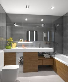 10 Startling Cool Tips: Industrial Wallpaper Sinks industrial interior diy. , 10 Startling Cool Tips: Industrial Wallpaper Sinks industrial interior diy. 10 Startling Cool Tips: Industrial Wallpaper Sinks industrial inte. Amazing Bathrooms, Bathroom Layout, House Design, Bathroom Inspiration, Laundry In Bathroom, Industrial Wallpaper, Modern Bathroom, Industrial Interiors, Industrial Stairs