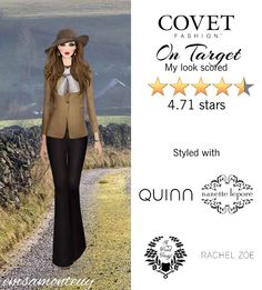 On Target @covetfashion #covet #covetfashion #covetfashionapp #fashion #covetfall2015 #fall2015 #womensfashion #ontarget #rachelzoe #veronicabeard #mabelchong #quinn #ericjavits #apeacetreaty