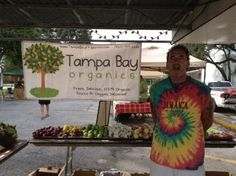 EDGE District Farmers Market open Wednesdays from 4pm-8pm, specializing in organic and all-natural goods and foods.