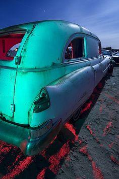 Hopefully on a beach in Baja. Vintage Trucks, Old Trucks, Fire Trucks, Cadillac, Junkyard Dog, Old American Cars, Combustion Chamber, Abandoned Cars, Emergency Vehicles