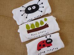 critters onesies 3 pack