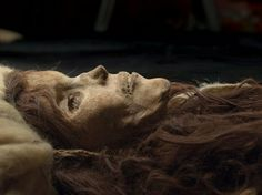 The earliest Tarim mummies, found at Qäwrighul, dated to 1800 BCE, are of a Europoid physical type whose closest affiliation is to the Bronze Age populations of southern Siberia & Central Asia. Their costumes, and especially textiles, may indicate origin with Indo-European neolithic clothing techniques.