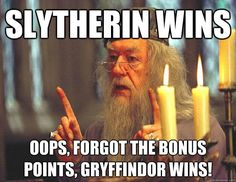17 Incredibly Serious Slytherin Problems