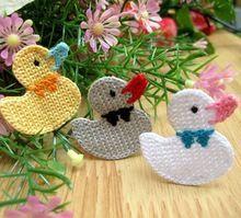 Duck Applique Crochet Pattern Pdf By Eve - Diy Crafts - maallure Crochet Dinosaur, Crochet Birds, Easter Crochet, Crochet Bunny, Crochet Animals, Crochet Yarn, Crochet Toys, Free Crochet, Crochet Applique Patterns Free