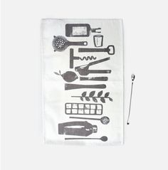Bar Towel  100% Organic Cotton by redcruiser on Etsy