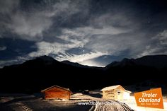#Winter #Nacht #tiroleroberland #Tschey Mount Everest, Mountains, Winter, Nature, Travel, Night, Winter Time, Naturaleza, Viajes