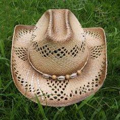 8baaf3413b8 Stylish Beads Decorated Openwork Cowboy Hat For Women (RANDOM COLOR  PATTERN)  9.65 Sammydress.