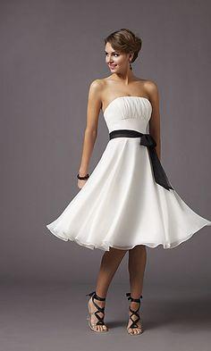 bridesmaids dresses? different color though