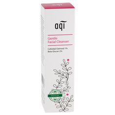 AQI Live Healthy Gentle Facial Cleaner - This soap free Facial Cleanser gently and effectively removes daily grime and impurities without over-drying or aggravating sensitive skin. This formula helps soothe and calm dry, irritated skin and reduce the appearance of redness.  #naturalskincare #healthyskin #skincareproducts #Australianskincare#AqiskinCare
