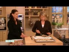 ▶ Martha Stewart Makes Peppermint Crunch with Ghirardelli Chocolate - YouTube