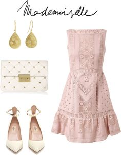 """Mademoiselle"" by quesarasara ❤ liked on Polyvore"