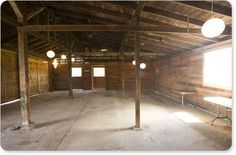 Pining+for+a+Barn+Reception?+Barn+Decor+Ideas+to+Inspire Just like a blank canvas... AWESOME!!