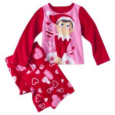 Elf on the Shelf® Toddler Girls' 2-Piece Pajama Set
