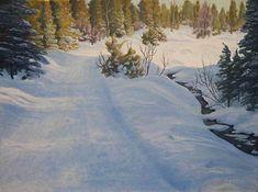 Creekside by Rod McAuley Oil ~ 24 x 18
