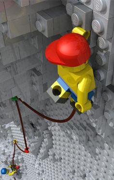 LEGO climbers
