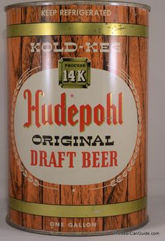 Hudepohl Original Draft Beer was established in Cincinnati in 1885. In 1986, the Hudepohl Brewing Co. combined with the Schoenling Brewing Co and became The Hudepohl-Schoenling Brewing Company. After going through a few owners & a few company name changes over the years,  the Hudepohl-Schoenling name came back in 2004 & are now a subsidiary of the Christian Moerlein Brewing Co.
