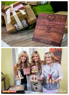 Do like @paigehemmis does & DIY your own wedding invitations! For more great wedding planning tips & tricks, catch #homeandfamily weekdays at 10/9c on Hallmark Channel!